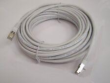50Ft CAT6 SSTP Double Shielded Gigabit Ethernet LAN RJ45 Patch CAT.6 Cable White