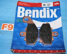 2 plaquettes de frein BENDIX Kawasaki Z 750 1000 ZX-6R ZX-9R ZX-10R ER-6 Versys