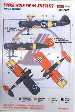 KORA Decals 1/72 FOCKE WULF Fw-44 STIEGLITZ with Resin Skis