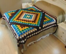 NEW! AMISH HANDMADE QUILT! ~ Trip in the Commons ~ 102 x 114