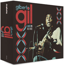 CD Gilberto Gil ‎– Anos 70 Ao Vivo (6 CDs) (NEW/SEALED)
