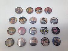 Lot de 19 badges DEPECHE MODE années 90