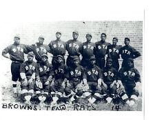 1900'S Tennessee Rats Negro Leagues Team 8X10 Photo Baseball Memphis