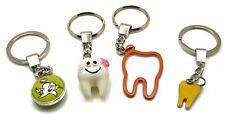 4 Pcs Set Dental Keyring Key-chain Dental Doctor Student Gift Kids Adults