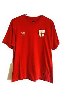 Men's Limited Edition Adidas FIFA 2006 World Cup ENGLAND football T-shirt Medium