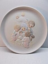 Precious Moments Limited Editon Collector Plates from 1980's NIB