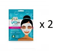 Yes To Cotton Paper Mask Single Mask (2 Pack)