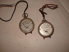 New listing Vintage Beede Electrical Volt /Amp Meter. 2 each