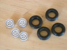 1/43 rd scale Cast Ford P100 pick up wheels pack of 4 K & R Replicas