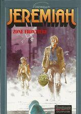 EO HERMANN + SUPERBE DESSIN ORIGINAL :  ZONE FRONTIÈRE ( JÉRÉMIAH N° 19  )