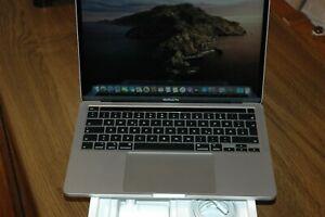 """MacBook Pro 13.3"""" 2020 MWP72D/A Core i5 2.0/16/512 GB Touchbar silber wie NEU"""
