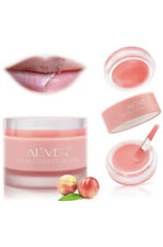 AL'IVER Lip Sleep Mask W/ Collagen Peptide, Lip Scrub, Lip Primer, Vegan