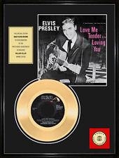 "ELVIS PRESLEY - LOVE ME TENDER 7"" GOLDENE SCHALLPLATTE"