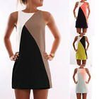Plus Size Womens Short Mini Dress Summer Long Tops Shirt Sundress Tunic Clubwear