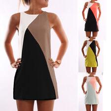 Women Summer Casual Dress Maxi Party Evening Mini Dress Beach Sleeveless Dresses