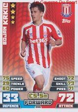266 BOJAN KRKIC # STOKE CITY.FC ESPANA CARD MATCH ATTAX 2015 TOPPS