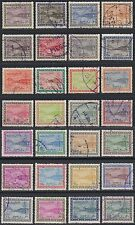 1965/72 arabia saudí arabia mi.215/42 used, Dam embalse, King Saud Cartouche [g2247]