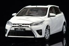 Diecast Car Model Toyota Yaris 1:18 (White) + GIFT!!
