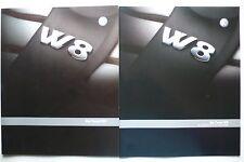 Prospekt Volkswagen VW Passat W8, 4.2002, 32 Seiten + Daten/Ausstattung