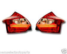 NEW OEM 2012-2013 Ford Focus BEV Tail Light Lamp Pair- LED Accent Strips Euro ST