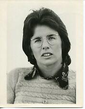 1970s Vintage Portrait Publicity Photo: BILLIE JEAN KING