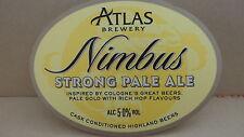 Atlas Brewery Nimbus Strong Pale Ale Beer Pump Clip 108