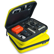 GoPro SP Storage Carry Case Giallo Hero HD 1 2 3 3 + 4 Telecamere e Accessori