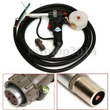 16FT MIG Welding Spool Gun Push Pull Feeder Aluminum Welding Torch with 5M Cable