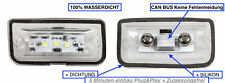 2x TOP LED SMD Kennzeichenbeleuchtung Chrysler Crossfire Coupe (1103-4D