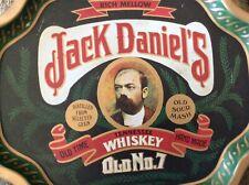 Jack Daniels Vintage Jack (no Hat) Backbar Metal Serving Tray