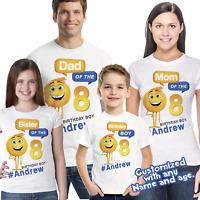 OMG Its My Birthday Emoji Shirt Party