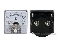 0 - 20 V DC Einbau Messinstrument Analog Voltmeter - CLASS 2,5