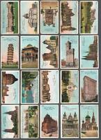 1902 ITC C96 Views of the World Tobacco Cards Complete Set of 50