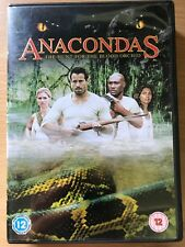 ANACONDAS - THE HUNT FOR THE BLOOD ORCHID ~ 2004 Big Snake Horror | UK DVD