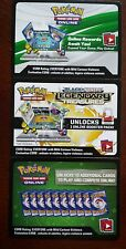 2X Pokemon TCG Booster Online Codes New sent by ebay email Latest sets available