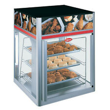Hatco Fsd-2X Hot Food Display Case w/ 2 Doors & 3 Tier Circle Rack without Motor