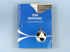 Service Manual, 1996 Ford Mustang, FCS-12193-96