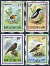 Papua New Guinea 802-805,MNH.Michel 681-684. Small Birds 1993.