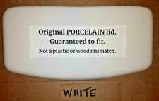 NO FLAWS, WHITE 4471 4474 @ 18.25 x 9 URC Crane toilet tank lid top cover