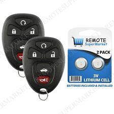 Replacement for Pontiac G5 G6 Grand Prix Solstice Saturn Remote Car Key Fob Pair