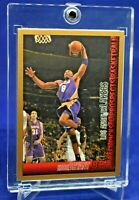 KOBE BRYANT BOWMAN GOLD PARALLEL SOARING DUNK POSE LAKERS HOF 2021 INVEST MAMBA