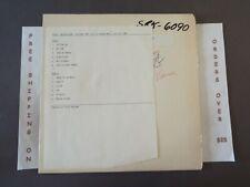 TELEX NEUROVISION 1980 TEST PRESS LP SRK-6090