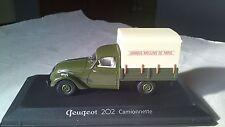 1/43 NOREV PEUGEOT 202 CAMIONNETTE 1947  PICKUP TRUCK CAMION