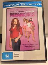 MEANGIRLS - LINDSAY LOHAN , TINA FEY (R4 - LIKE NEW) - DVD #145