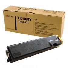 KYOCERA TK 500Y  C5000 TONER YELLOW ORIGINALE