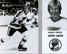 Garry Unger St Louis Blues 8x10 Photo 1978-79 season