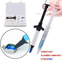 FDA* Dental Orthodontic Bracket Light Cure Bonding Adhesive Primer Blue Glue
