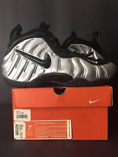 2006 DS NEW NIKE AIR FOAMPOSITE PRO METALLIC SILVER PENNY MEN 7.5 WOMEN 9 7 8 6