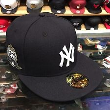 "New Era New York Yankees Fitted Hat Cap ""27 World Series Championships"" Patch"