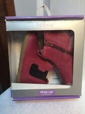 Bobux Step Up Jodphur Boot Leather Booties in Fuchsia Size 19EU/US 4.5 Girls